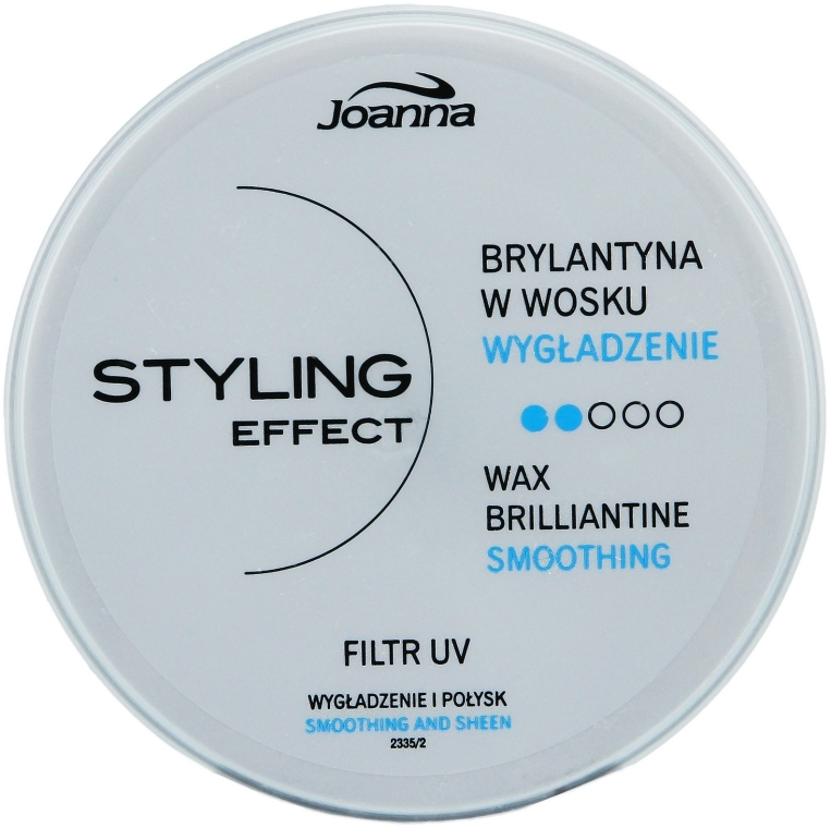 Brilliantine vo vosku na vlasy - Joanna Styling Effect Wax Brilliantine