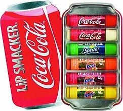 Voňavky, Parfémy, kozmetika Sada balzamov na pery - Lip Smacker Coca-Cola Flavored Lip Gloss Collection (balm/6x4g)