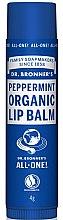 "Voňavky, Parfémy, kozmetika Balzam na pery ""Mint"" - Dr. Bronner's Peppermint Lip Balm"