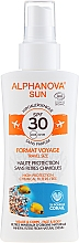 Voňavky, Parfémy, kozmetika Sprej s ochranou proti slnku - Alphanova Sun Bio SPF30 Spray Voyage