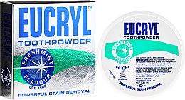 Voňavky, Parfémy, kozmetika Prášok na zuby - Eucryl Toothpowder Freshmint