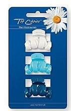 Voňavky, Parfémy, kozmetika Sponka do vlasov 24115, biela, svetlomodrá, modrá - Top Choice