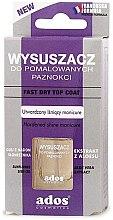 Voňavky, Parfémy, kozmetika Prostriedok na rýchle schnutie laku - Ados Fast Dry Top Coat