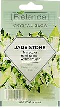 Voňavky, Parfémy, kozmetika Hydratačná a vyhladzujúca maska na tvár - Bielenda Crystal Glow Jade Stone Face Mask
