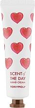 Voňavky, Parfémy, kozmetika Krém na ruky s výťažkom z cyklámenu, frézie, santalového dreva, pižma - Tony Moly Scent Of The Day Hand Cream So Romantic