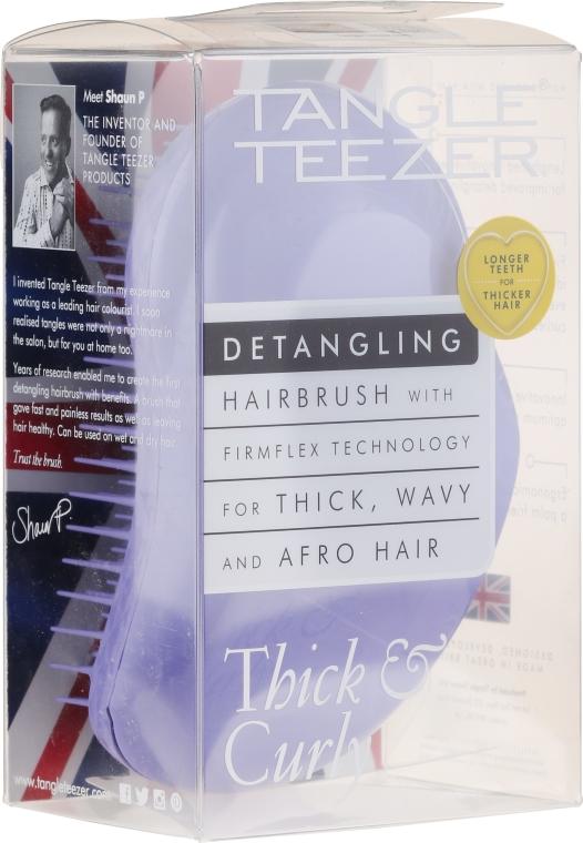 Kefa na husté a vlnité vlasy, fialová - Tangle Teezer Detangling Thick & Curly Lilac Fondant