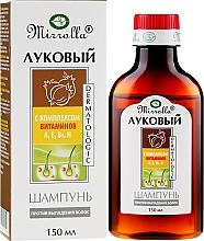 Voňavky, Parfémy, kozmetika Cibulový šampón s komplexom vitamínov - Mirrolla