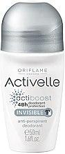 Voňavky, Parfémy, kozmetika dezodorant s antiperspirantnou guľou 48-hodinový - Oriflame Activelle Actiboost Invisible
