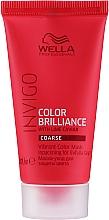 Voňavky, Parfémy, kozmetika Maska pre jas farby farbených vlasov - Wella Professionals Invigo Color Brilliance Vibrant Color Mask Coarse