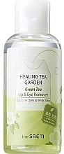 Voňavky, Parfémy, kozmetika Odličovač pre očí a pier s extraktom zo zeleného čaju - The Saem Healing Tea Garden Green Tea Lip & Eye Remover