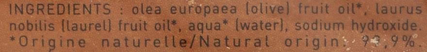 Mydlo Aleppo s vavrínovým olejom 30% - Tade Aleppo Laurel Soap 30% — Obrázky N3