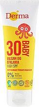 Voňavky, Parfémy, kozmetika Detská balzam na opaľovanie s vysokou ochranou - Derma Eco Baby Sun Screen High SPF30