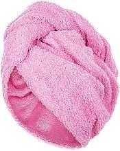 Voňavky, Parfémy, kozmetika Uterák-turban na vlasy, ružový - MakeUp