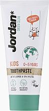 Voňavky, Parfémy, kozmetika Detská zubná pasta, 0-5 rokov - Jordan Green Clean Kids
