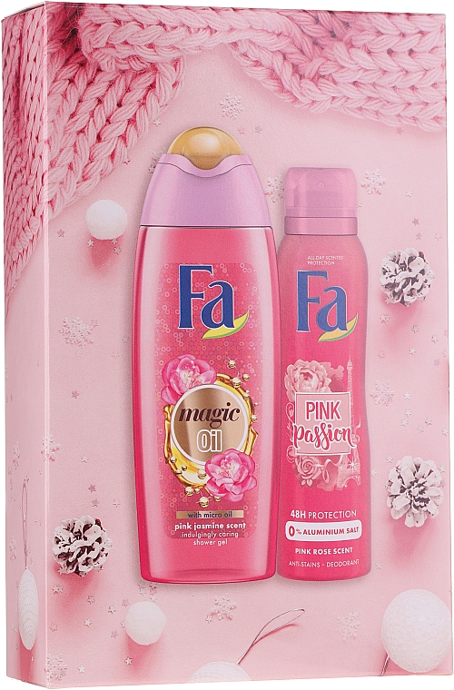 Sada - Fa Pink Passion (sh/gel/250ml + deo/spray/150ml)