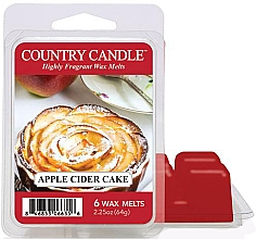 Voňavky, Parfémy, kozmetika Vosk pre aromatickú lampu - Country Candle Apple Cider Cake Wax Melts