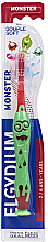 Voňavky, Parfémy, kozmetika Detská zubná kefka, 2-6 rokov, červená - Elgydium Kids Monster Toothbrush