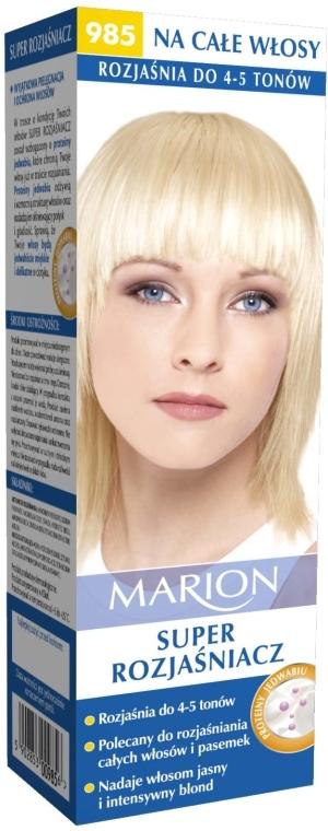 Rozjasňovač vlasov №985 - Marion Super Brightener