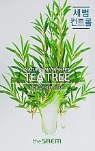 Voňavky, Parfémy, kozmetika Textilná maska s extraktom z čajovníka - The Saem Natural Tea Tree Mask Sheet