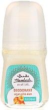 Voňavky, Parfémy, kozmetika Prírodný deodorant s arganovým olejom - Beaute Marrakech Natural Deodorant Roll-on