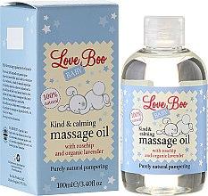 Voňavky, Parfémy, kozmetika Upokojujúci masážny olej pre dieťa - Love Boo Baby Kind & Calming Massage Oil
