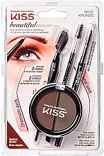 Voňavky, Parfémy, kozmetika Sada na modelovanie obočia - Kiss Beautiful Brow Kit
