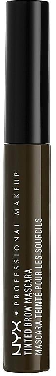 Tónovací gél na obočie - NYX Professional Makeup Tinted Eyebrow Mascara Gel