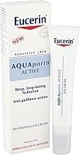 Voňavky, Parfémy, kozmetika Revitalizačný krém pre pleť okolo očí - Eucerin AquaPorin Active Deep Long-lasting Hydration Revitalising Eye Cream