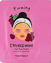 Voňavky, Parfémy, kozmetika Gélové náplasti na oči s extraktom z červeného hrozna - Tony Moly Red Wine Eye Mask