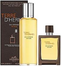 Voňavky, Parfémy, kozmetika Hermes Terre D'Hermes Eau Intense Vetiver - Sada (edp/30 ml + edp/125 ml)