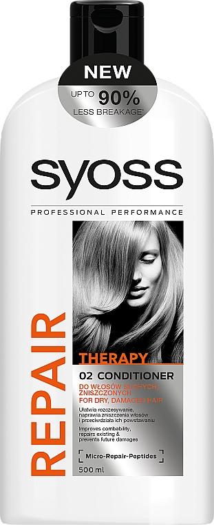 Balzam na suché, poškodené vlasy - Syoss Repair Therapy