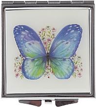 """Voňavky, Parfémy, kozmetika Kozmetické zrkadlo, """"Motýle"""" 85420, zeleno fialové - Top Choice"""