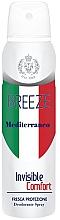 Voňavky, Parfémy, kozmetika Dezodorant v spreji - Breeze Mediterranean Invisible Comfort Deodorant Spray