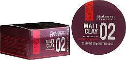 Voňavky, Parfémy, kozmetika Matná pomáda na úpravu vlasov - Salerm Pro Line Matt Clay