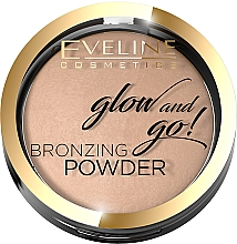Voňavky, Parfémy, kozmetika Bronzový púder - Eveline Cosmetics Glow & Go Bronzing Powder