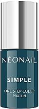 Voňavky, Parfémy, kozmetika Gélový lak na nechty - NeoNail Simple One Step Color Protein