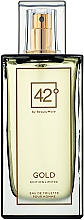 Voňavky, Parfémy, kozmetika 42° by Beauty More Gold Edition Limitee pour Homme - Toaletná voda