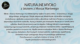 "Prírodné mydlo ""Bahno z Mŕtveho mora"" - Powrot do Natury Natural Soap with Mud from the Dead Sea — Obrázky N3"