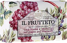 """Voňavky, Parfémy, kozmetika Mydlo """"červené hrozno a čučoriedky"""" - Nesti Dante Il Frutteto"""