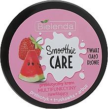"""Voňavky, Parfémy, kozmetika Hydratačný krém na telo """"Melón a jahoda"""" - Bielenda Smoothie Care"""