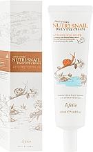 Voňavky, Parfémy, kozmetika Očný krém so slimačím mucínom - Esfolio Nutri Snail Daily Eye Cream