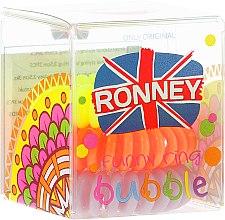 Voňavky, Parfémy, kozmetika Gumičky do vlasov, 3,5 cm - Ronney Professional S4 MAT
