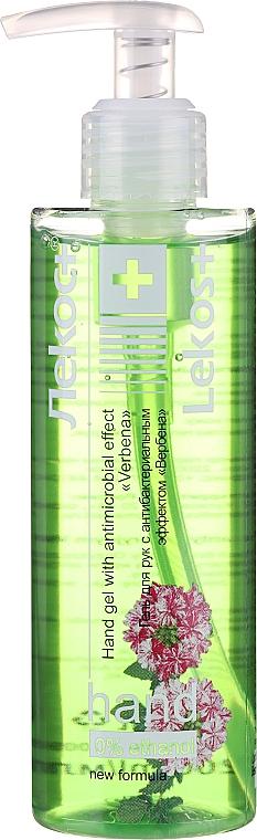 """Gél na ruky s antibakteriálnym efektom """"Verbena"""" - Markell Cosmetics Lekos+"""