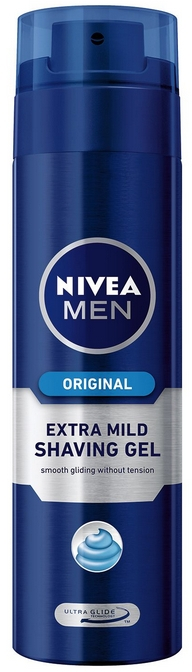 Holiaci gél - Nivea Original Extra Mild Shaving Gel — Obrázky N1