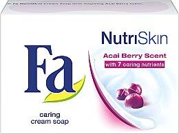 "Voňavky, Parfémy, kozmetika Mydlo ""Bobule Acai"" - Fa NutriSkin Acai Berry Bar Soap"