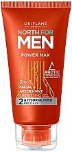 Voňavky, Parfémy, kozmetika Gél po holení 2 v 1 - Oriflame North for Men Power Max