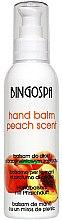 Voňavky, Parfémy, kozmetika Broskyňový balzam na ruky - BingoSpa