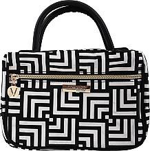 Voňavky, Parfémy, kozmetika Kozmetická taška a organizér Class, s rúčkami, strednej veľkosti - Inter-Vion