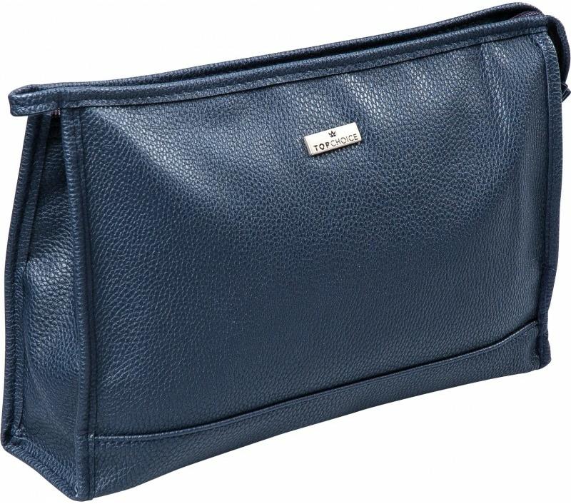 """ánska kozmetická taška """"Eco Premium"""", 97836, modrá - Top Choice — Obrázky N1"""