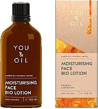Voňavky, Parfémy, kozmetika Bio-lotion na tvár - You & Oil Moisturising Face Bio Lotion Amber Oil+Mineral Water